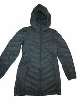 London Fog women's  packable down hooded winter Coat dark Hunter Green S... - $100.94