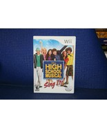 High School Musical: Sing It for Nintendo Wii - VG - Complete - See Pix - $6.13