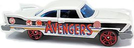Hot Wheels - '57 Plymouth Fury: '16 Captain America 75th Anniversary #6 *Loose* - $2.00