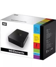 Wd Western Digital Elements 2TB WDBAAU0020HBK-NESN Usb External Hard Disk Drive - $279.99