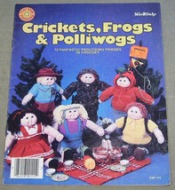 Crochet Craft Shop Publishing - Crickets, Frogs & Polliwogs Patterns - $10.40