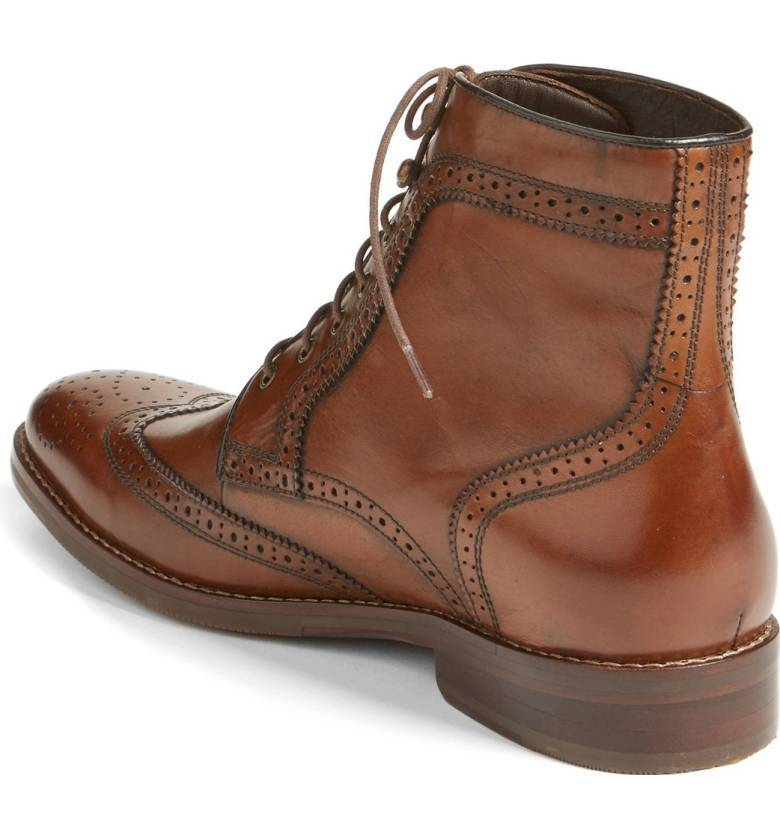 Details about Handmade Men Wingtip Brogue Boot, Men Brown Brogue Boots, Men Ankle Boot. 1 viewed per hour. Handmade Men Wingtip Brogue Boot, Men Brown Brogue Boots, Men Ankle Boot. Item Information. Condition: New with box. US Shoe Size (Men's): Quantity: 5 available / 2 sold Seller Rating: % positive.