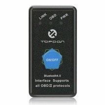 OBD2 Scanner Bluetooth TOPDON AutoMate Code Reader Compatible With Unive... - $21.95