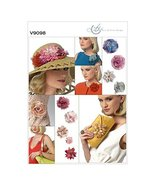 Vogue Patterns V9098 Flowers and Clutch Purse, One Size - $16.86