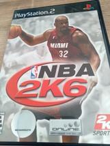 Sony PS2 NBA 2K6 image 1