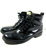 Good Year Tire and Rubber Black Leather Welt Work Boots GY-5323 Size 11 ... - $29.65