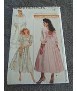 Butterick 5895-Vintage size 14 Misses Petite Dress - $6.99