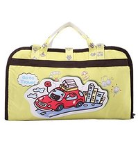 Hot Sale Baby Stroller Organizer Pushchair Storage Bag Cartoon Car Yellow