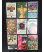 Lot Of 9 Christmas Music Cassettes Hallmark Mitch Miller Country Perry C... - $12.62