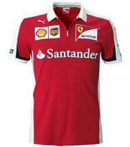 Puma Ferrari SF Team Men's Santander Scuderia Polo Shirt T-Shirt 76166801 size S
