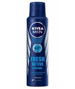 2 X Nivea Fresh Active Original 48 Hours Deodorant, 150ml, FS - $17.33