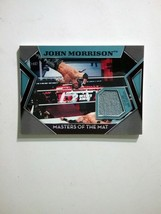 John Morrison Masters Of The Mat 2011 Topps Insert Relic - $5.00