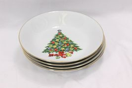 Jamestown Xmas Treasure Bowls Cups Saucers Lot of 12 image 9