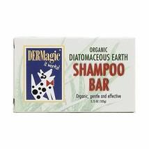 DOG SHAMPOO MENDOTA BAR SOAP DIATOMACEOUS EARTH ORGANIC GENTLE DERMAGIC ... - $15.67