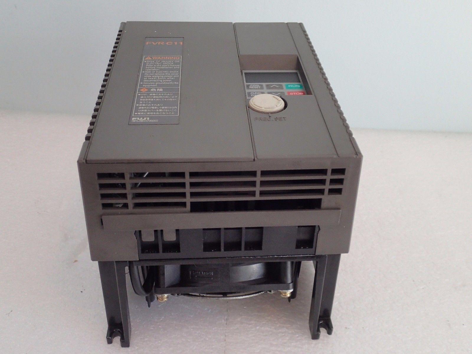 ... WARRANTY FUJI FVR-C11 INVERTER DRIVE FVR3.7C11S-2 3PH 200-230V ...