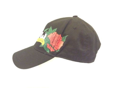 Otto Collection DW Drum Workshop Black Rose Hat Cap Strapback Adjustable