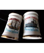 Vintage Disneyland Salt and Pepper Shakers Columbia Mark Twain Ship Boat... - $12.00