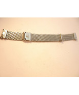 VINTAGE 17MM CHAMPION STAINLESS STEEL MADE IS USA MESH 9 INCH NASA WATCH... - $495.00