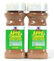 2 Count McCormick 2.18 Oz Apple Cinnamon Naturally Flavored Sugar & Spic... - $15.99