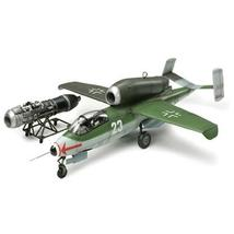 Tamiya 1/48 Heinkel He162 A-2 Salamander plastic model fighter - $73.08