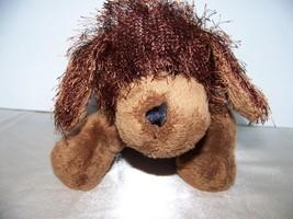 "Webkinz Ganz Plush Broen Dog No Code Stuffed Beanie Toy 8"" Adorable - $5.32"