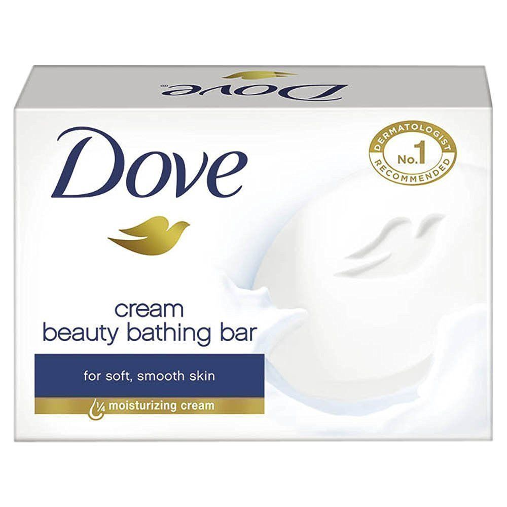 Dove Soap Cream Beauty Bathing Bar 50 gm For Soft, Smooth Skin **** image 4
