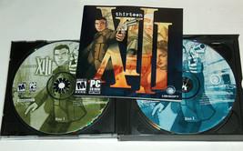 2003 Ubisoft Thirteen XIII PC 4 Disco CD ROM Videojuego M Madura 17+ Con / Book - $8.06