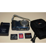 Panasonic LUMIX DMC-TZ5 9.1MP Digital Camera 10x Opti Image Stabilized Z... - $94.91