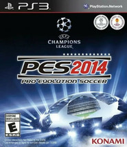 Pro Evolution Soccer 2014 - Playstation 3 Game - $5.89
