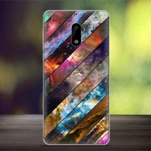 Softlyfit Patterned TPU Embossing Cell Phone Case for Nokia 6 - Galaxy - $2.53