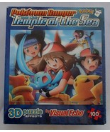 Pokemon Ranger Temple of the Sea 3D Puzzle Effects 100 Pieces Visual Echo New - £8.63 GBP