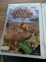 Nintendo Wii Wild Earth: African Safari ~ COMPLETE image 2