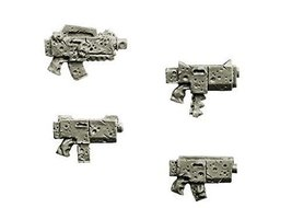 Spellcrow Space Knights: Plasma Rapid Guns (Miniature Models)