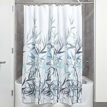 InterDesign Anzu Fabric Shower Curtain Water-Repellent and Mold- and Mil... - $15.79