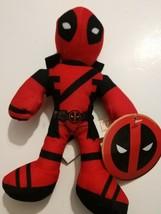 New Marvel Deadpool 9'' Plush Toy By GoodStuff doll - $9.89