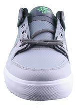 Supra Homme Vaider Bas Décoloré Gris/Blanc Nylon Skateboard Shoes Basket S36042 image 5