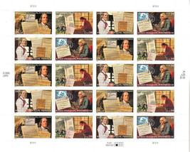 Ben Franklin US 20 x 39c Sheet Postage Stamps Scott 4021-24 MNH Mint - $19.69