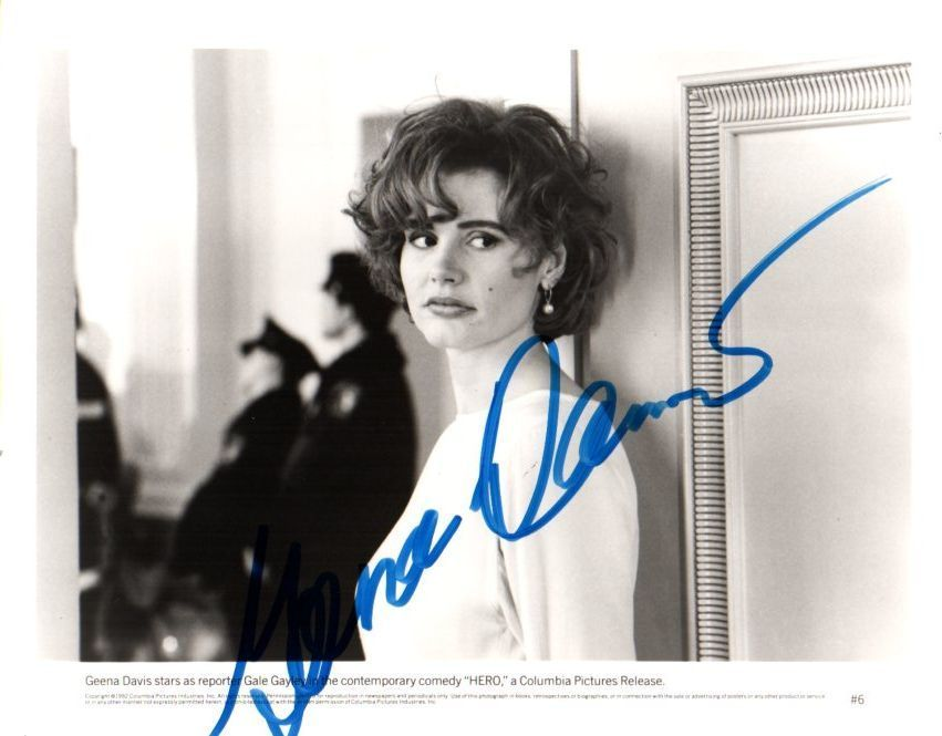 Primary image for Geena Davis Signed Autographed Glossy 8x10 Photo