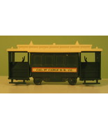 Avon Collectibles 1974 Cable Car Decanter - $8.37