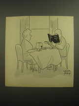 1950 Cartoon by Chon Day - Holy Bible - $14.99