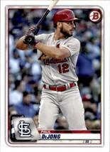2020 Bowman #55 Paul DeJong NM-MT Cardinals - $0.99