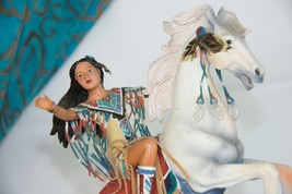 Sisters in Spirit Collection INDIAN Maiden on Horse - RIDING on the CANY... - $19.75