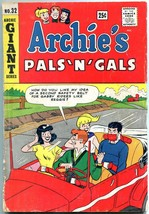 Archie's Pals 'n' Gals #32 1965-Giant series-Betty and Veronica - $35.31