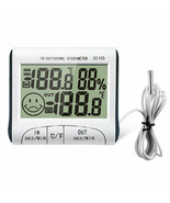 Digital LCD Portable Indoor Outdoor Thermometer Hygrometer DC103 Easy In... - $15.64