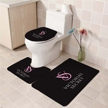Hot Victoria's_Secret202 Toilet Set Anti Slip Good For Decoration Your Bathroom  - $20.09