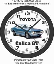 1971 TOYOTA CELICA GT  BIG 10,14,17 INCH WALL CLOCK-FREE USA SHIP - $28.70+