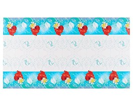 amscan 571620 Plastic Table Cover | Disney Ariel Dream Big Collection | ... - $5.99