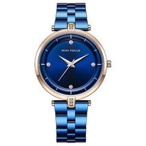 Mini Focus Women's Steel Wrist Watch MF0120L (Blue) - $33.30