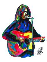 "Glenn Frey, Eagles, Vocals, Guitar, Songwriter, Country Rock, 18""x24"" Ar... - $19.99"