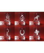 Set of 6 Shot Glasses Good Luck, Maneki-neko, Ladybug, Dala horse, Dream... - $39.99